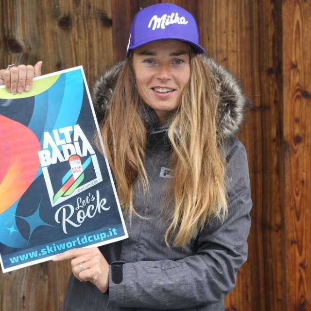 TINA MAZE & THE ROCKERS  LIVE CONCERT IN ALTA BADIA PER LA COPPA DEL MONDO DI SCI 2017