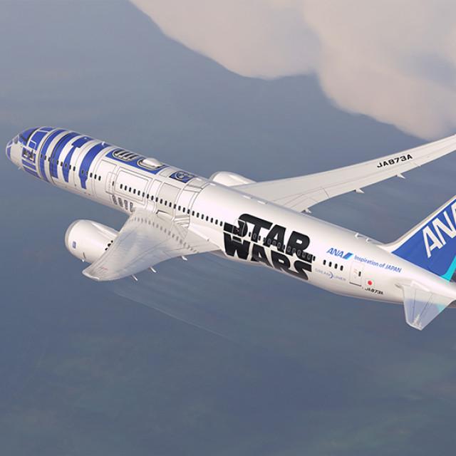 ANA PRESENTA IL DREAMLINER 787-9 CON LA NUOVA LIVREA Star Wars ™ R2-D2