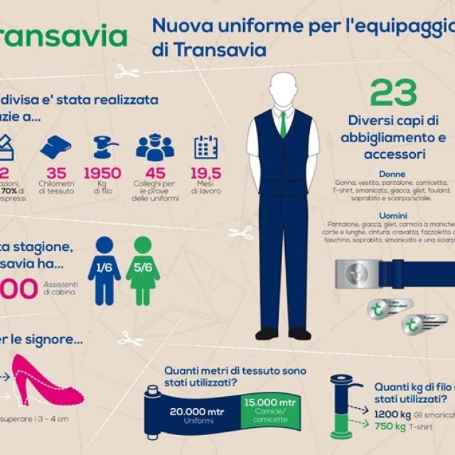 NUOVE UNIFORMI PER L'EQUIPAGGIO TRANSAVIA