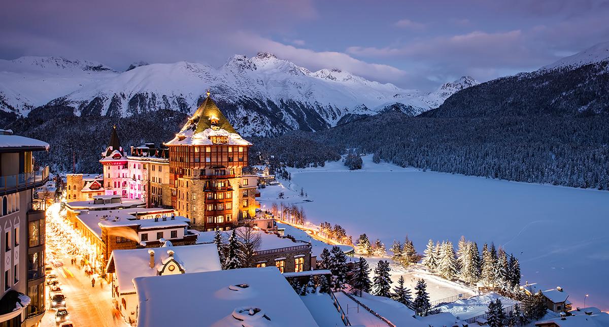 Badrutt's Palace Hotel, St.Moritz