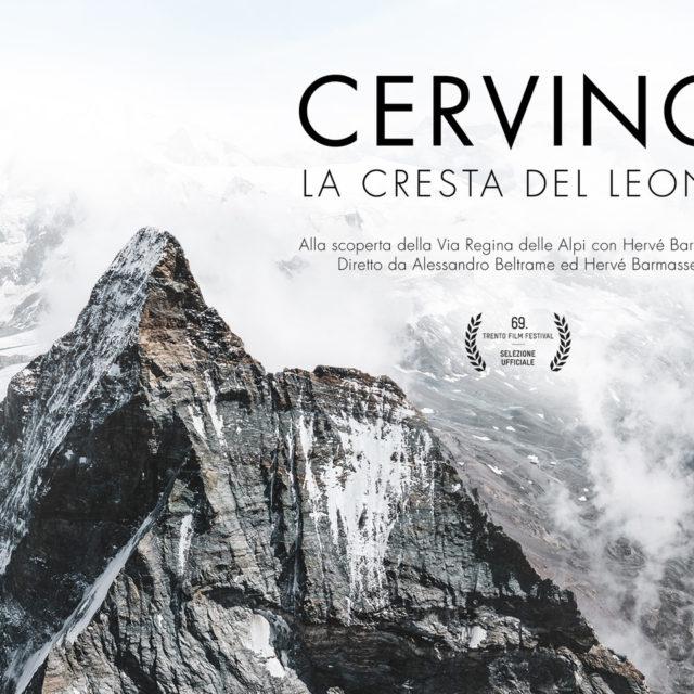 """HERVÉ BARMASSE PROTAGONISTA DEL FILM """"CERVINO, LA CRESTA DEL LEONE"""" PRODOTTO DA VIBRAM"""